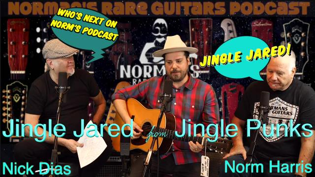 Coming next week on Norm's Podcast_Jingle Jared.