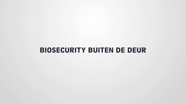 Biosecurity op evenementen