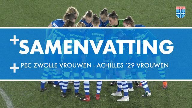 PEC Zwolle Vrouwen sluit af met monsterzege: 10-0