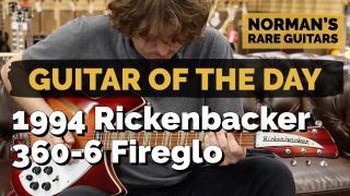 1994 Rickenbacker 360-6 Fireglo