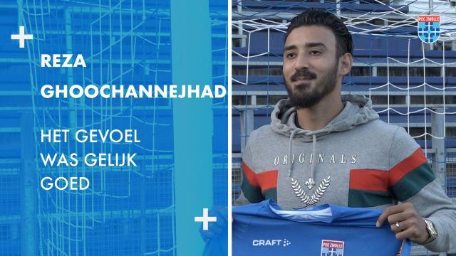Reza Ghoochannejhad:'Het gevoel was gelijk goed.'