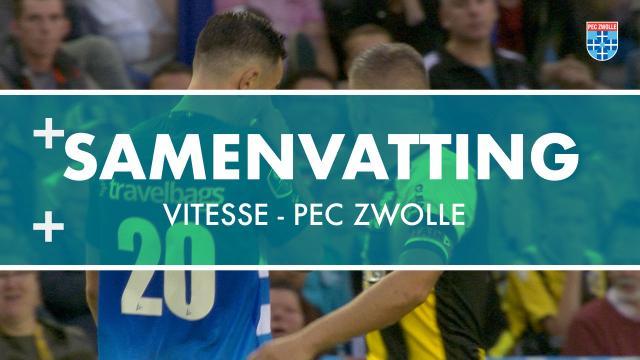 Samenvatting Vitesse - PEC Zwolle