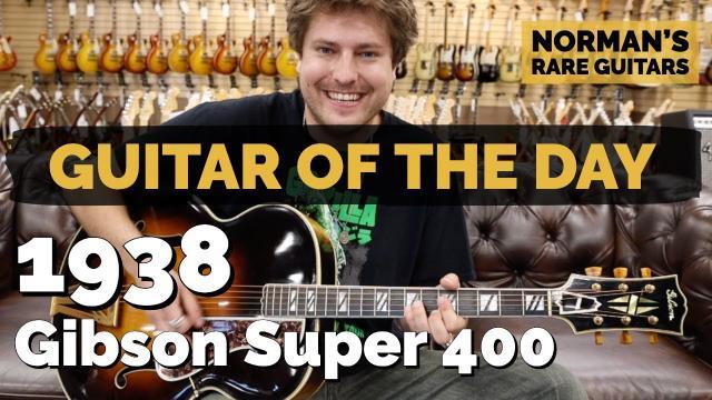 1938 Gibson Super 400 Sunburst