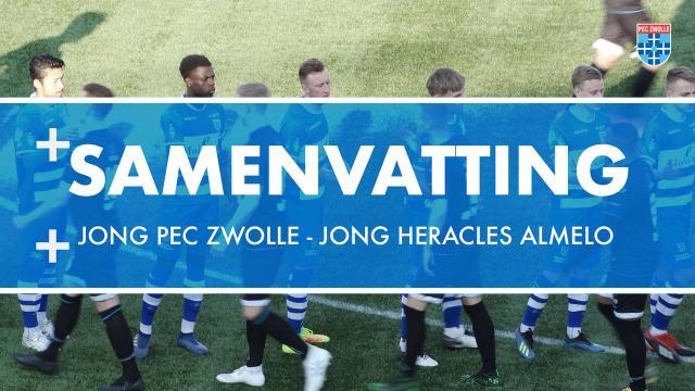 Samenvatting Jong PEC Zwolle - Jong Heracles Almelo