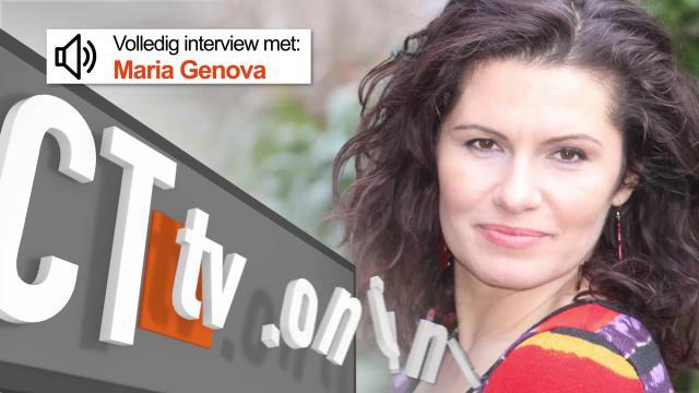 """Podcast Interview Maria Genova - Auteur """"Komt een vrouw bij de Hacker"""""""