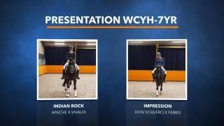Presentatie WK Jonge Dressuurpaarden - Deel 2