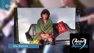 ELLY NIEMAN in HEART FOR THE HOMELESS - Help for children on Lesbos ('Bootje van papier')