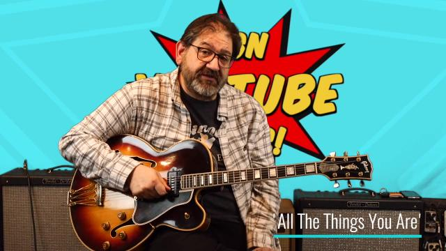 Youtube Pick Of The Week: James Santiago: Hank Garland and the 1955 Gibson 'Byrdland'; All The Things You Are