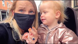 SHOPPEN MET MONDKAPJE ViNDT LUXY ENG!  | Bellinga Vlog #1881