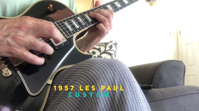 Thursday: 1957 Les Paul Custom