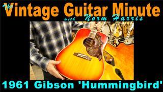 1961 Gibson 'Hummingbird'