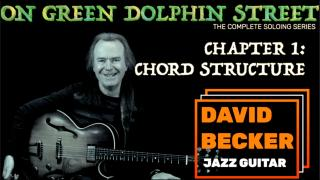 'On Green Dolphin Street':  Intro & Chapter 1; Chord Structure