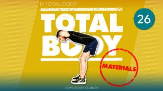TotalBody 26 Materials