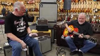 David Hidalgo from Los Lobos playing a 1964 Gibson ES-125TDC