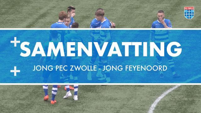 Samenvatting Jong PEC Zwolle - Jong Feyenoord