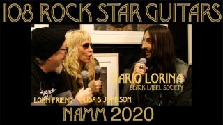 108 ROCK STAR GUITARS AT NAMM 2020: Dario Lorina