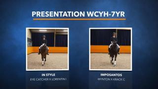 Presentatie WK Jonge Dressuurpaarden - Deel 1