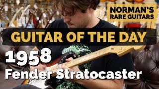 Guitar of the Day: 1958 Fender Stratocaster Sunburst