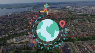 Harderwijk gaat virtueel op Wereldreis!