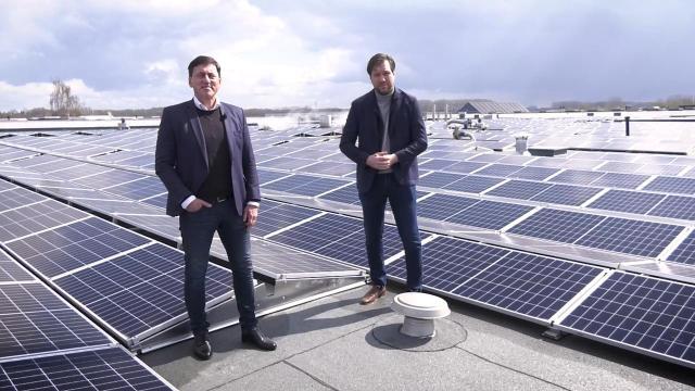 Ondernemerslounge (RTL7) | 3.11.07 | Maurice bij Solar Rooftop Fund