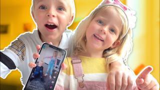TiKTOK DANSJES NADOEN MET LUCiLLA & LUAN  | Bellinga Vlog #1737