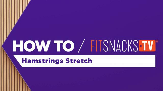 How To Hamstrings Stretch
