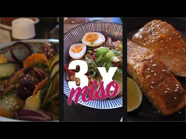 Flavours By Bien | 3 gerechten met misopasta