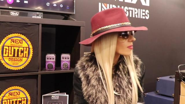 NAMM 2020:  Orianthi: Live from the NEXI Pedals Booth: