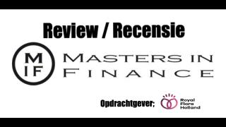 Masters in Finance - Review Recensie Royal Flora Holland