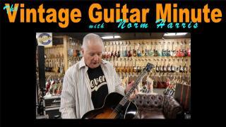 Vintage Guitar Minute: Gibson ES 125-T Tenor Guitar