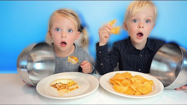 CHiPS VS REAL FOOD CHALLENGE  | Luan Bellinga #102