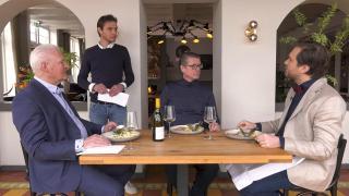 Ondernemerslounge (RTL7) | 3.10.08 | Culinair slot bij Bellevue Blaricum