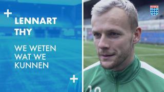 Lennart Thy: 'We weten wat we kunnen.'
