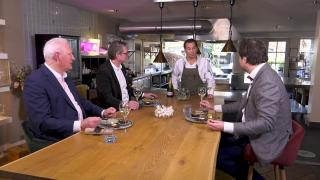 Ondernemerslounge (RTL7) | 3.12.9 | Culinair slot bij Pascal Jalhay in Laren
