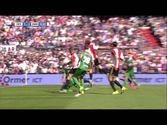 Samenvatting Feyenoord - PEC Zwolle