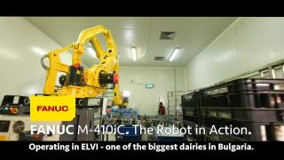 FANUC The Robot in Action in ELVI /by SIMLOGIC/