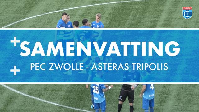 Samenvatting PEC Zwolle - Asteras Tripolis