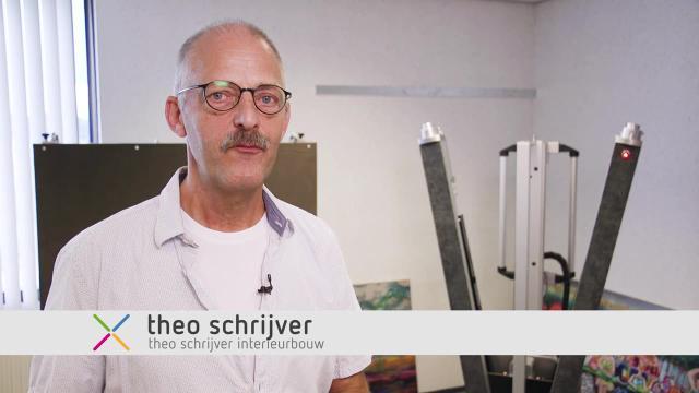 Kunstophangsysteem - Theo Schrijver Interieurbouw
