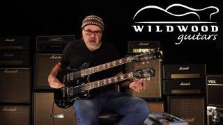 Wildwood Guitars • Gibson Custom Shop Signed Slash EDS-1275 Doubleneck • SN: SLS127565