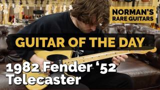 Guitar of the Day: 1982 Fender '52 Telecaster | Norman's Rare Guitars