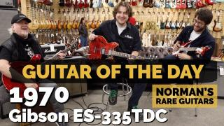 Valentines Day at Norman's Rare Guitars  |  Guitar of the Day  |  1970 Gibson ES-335TDC