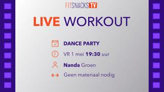 LIVE | Dance Party met Nanda Groen (1/5/2020)