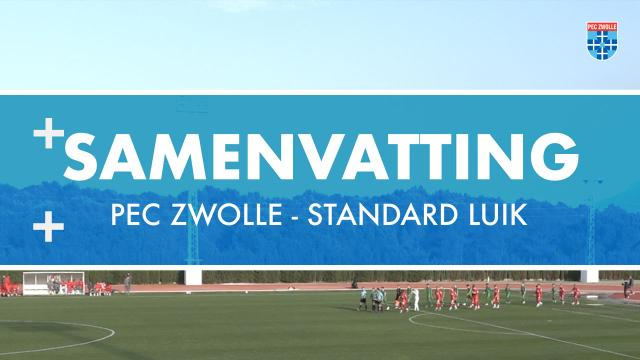 Samenvatting PEC Zwolle - Standard Luik