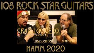 108 ROCK STAR GUITARS AT NAMM 2020: Craig Locicero