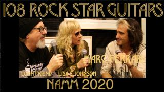 108 ROCK STAR GUITARS AT NAMM 2020: Marc Ferrari