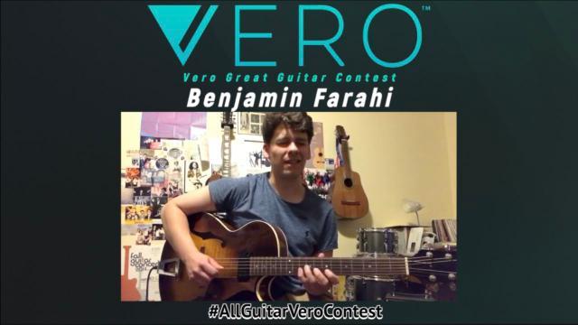 Benjamin Farahi_some very cool Jazz licks...!