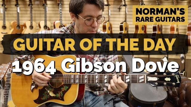 Flat top Friday: 1964 Gibson Dove