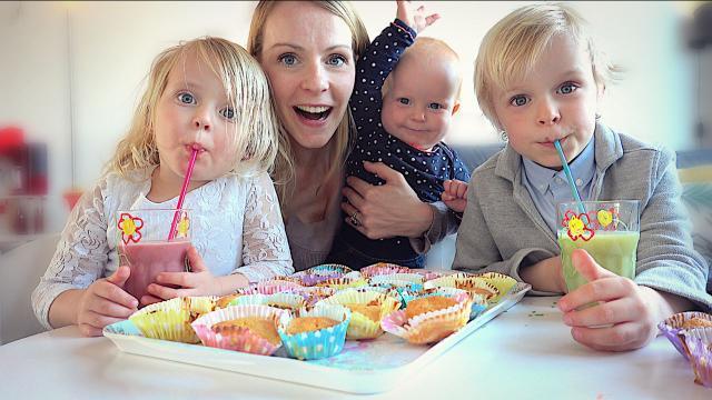 24 UUR ALLEEN MAAR GEZOND ETEN  | Bellinga Familie Vloggers #1341