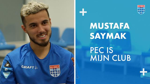 Mustafa Saymak: 'PEC is mijn club.'