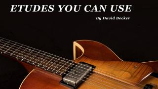 Etudes You Can Use: David Becker's latest book is out now...